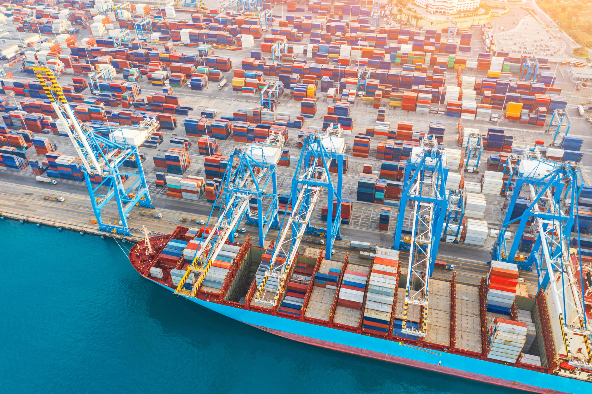 Container Cargo Shipping to South America