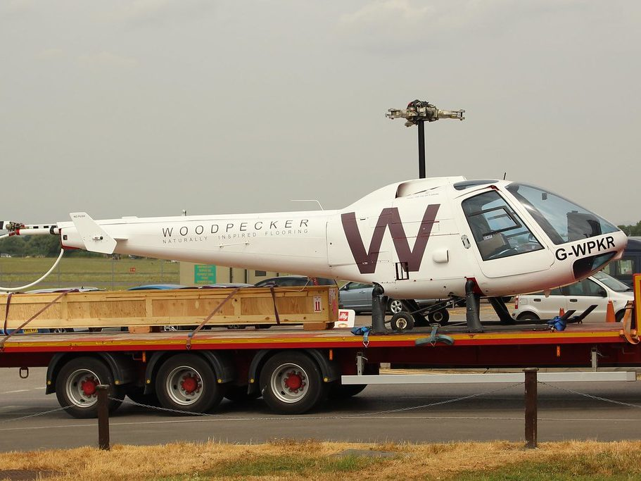 Aerospace-industry-ground-shipping-helicopter-transport