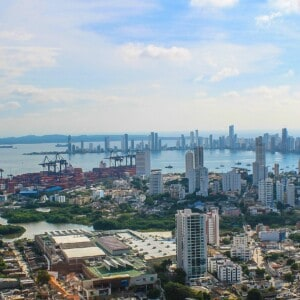 Port of Cartagena - Ocean Container Shipping and exporting to Colombia from USA, Canada, Europe, China