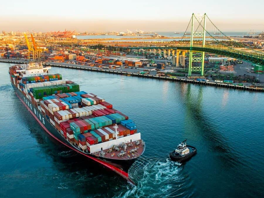 International Shipping to & from the US - Port of Los Angeles
