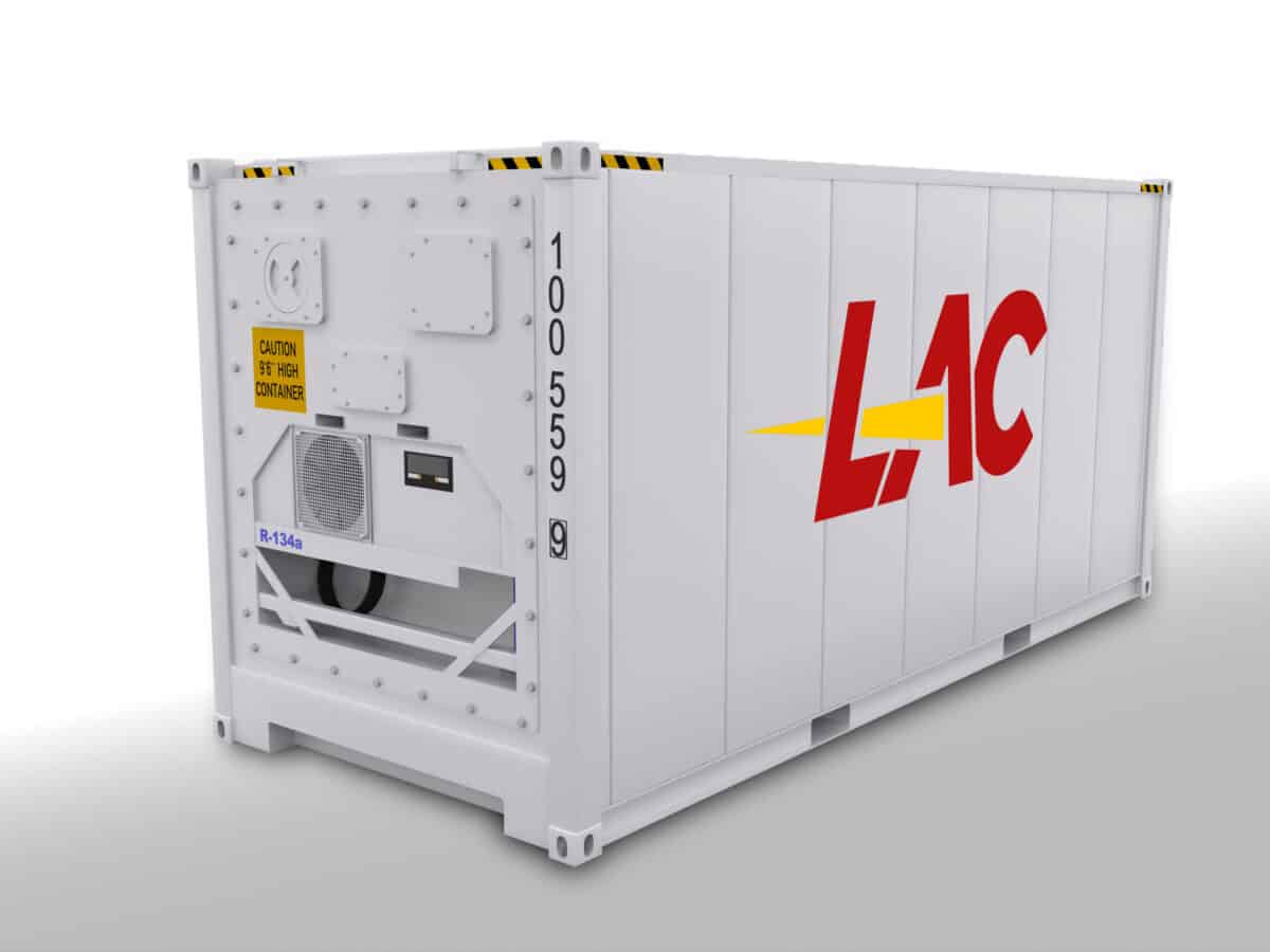 20 Ft Refrigerated Reefer Container Size