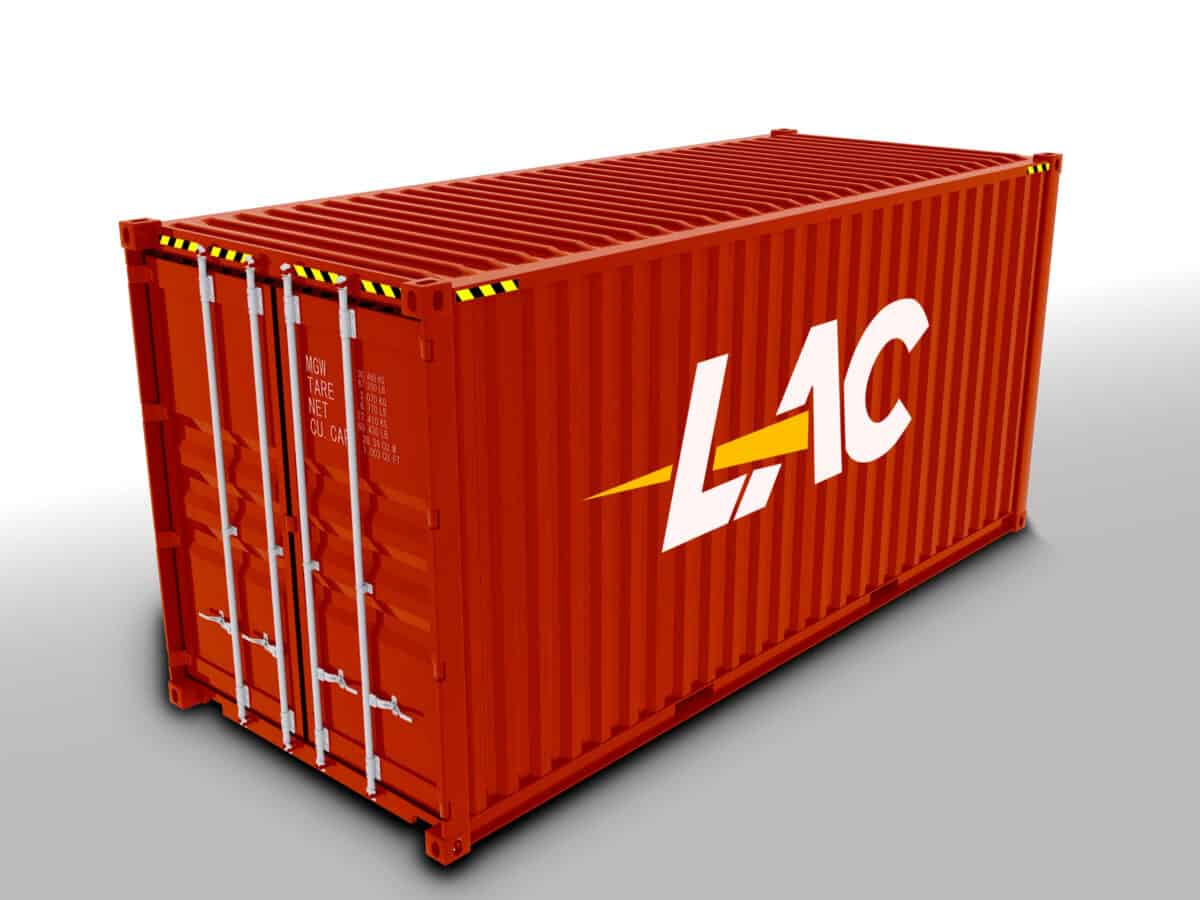 20 Ft Standard Shipping Container Size
