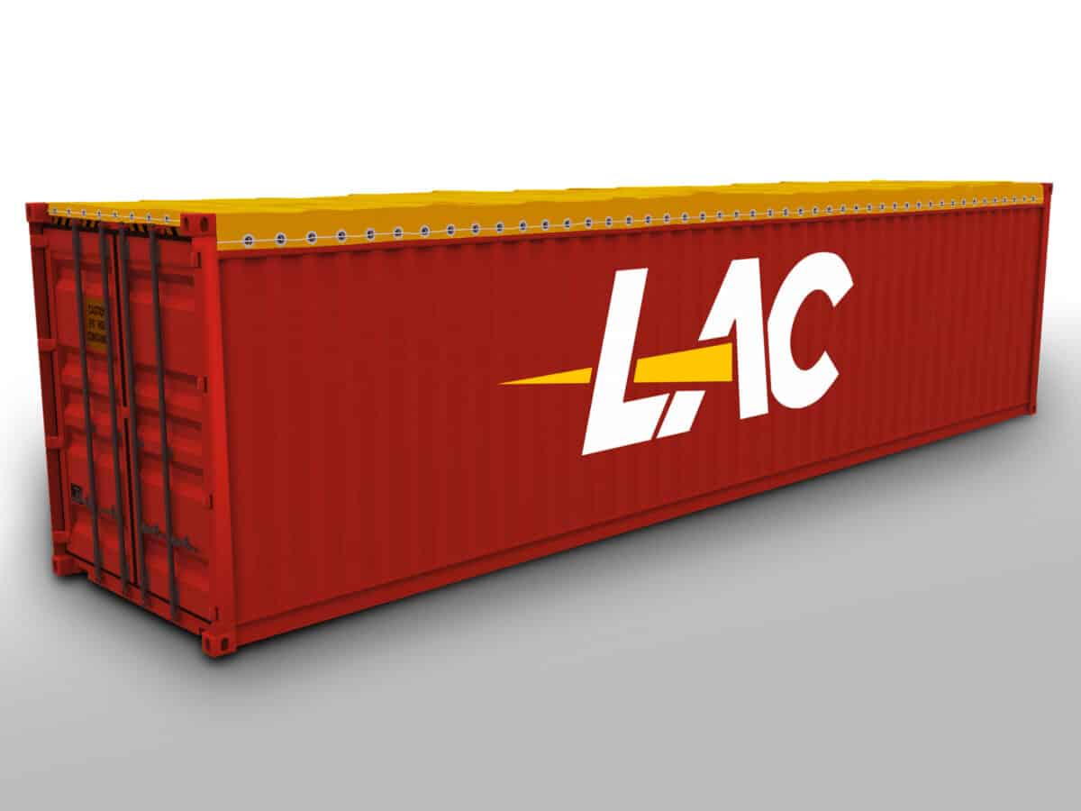 40 Ft Open Top Container Size