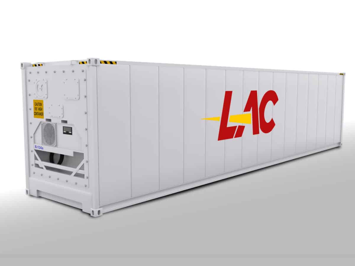 40 Ft Refrigerated Reefer Container