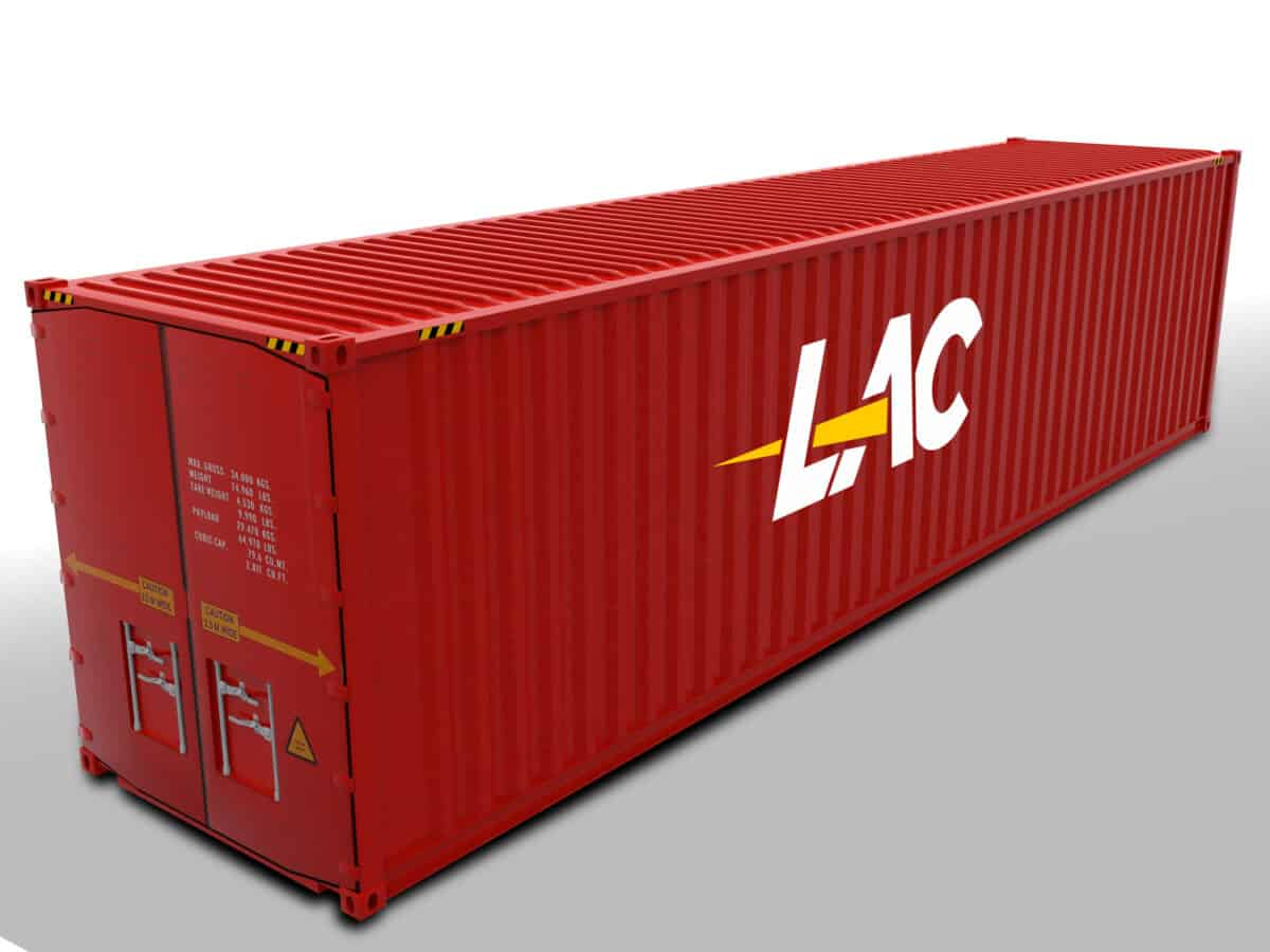40 Ft Standard Shipping Container Size