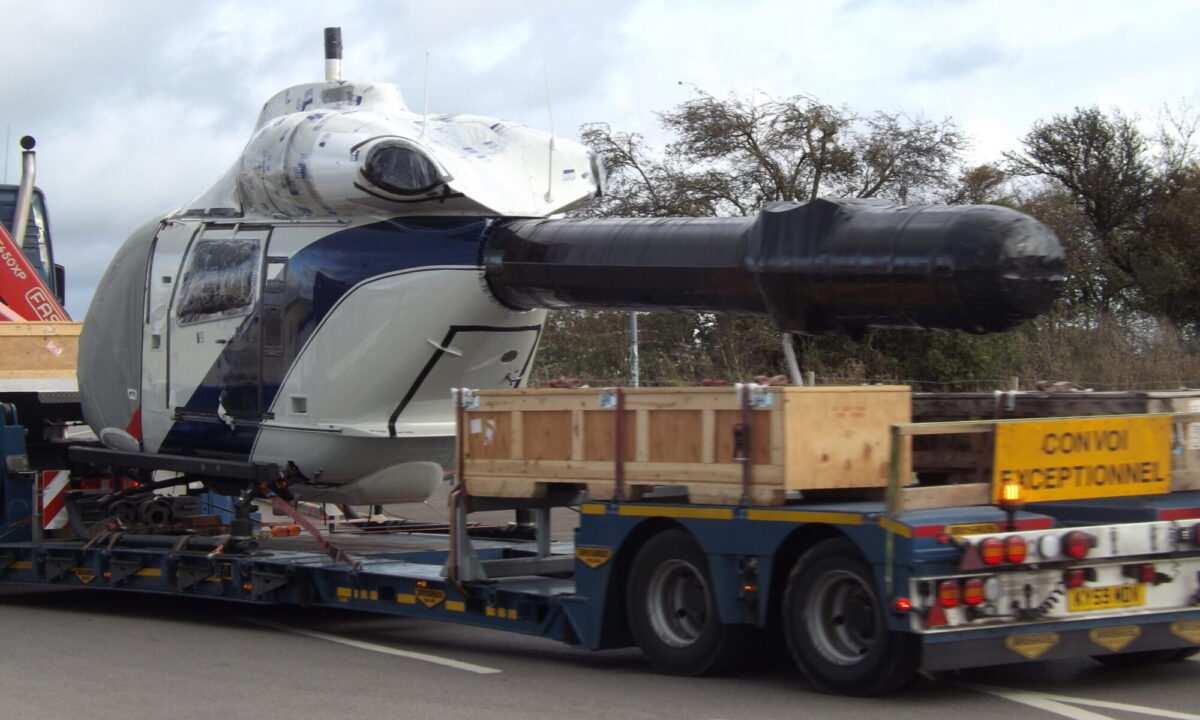 Aerospace-industry-ground-shipping-helicopter-oversized-transport