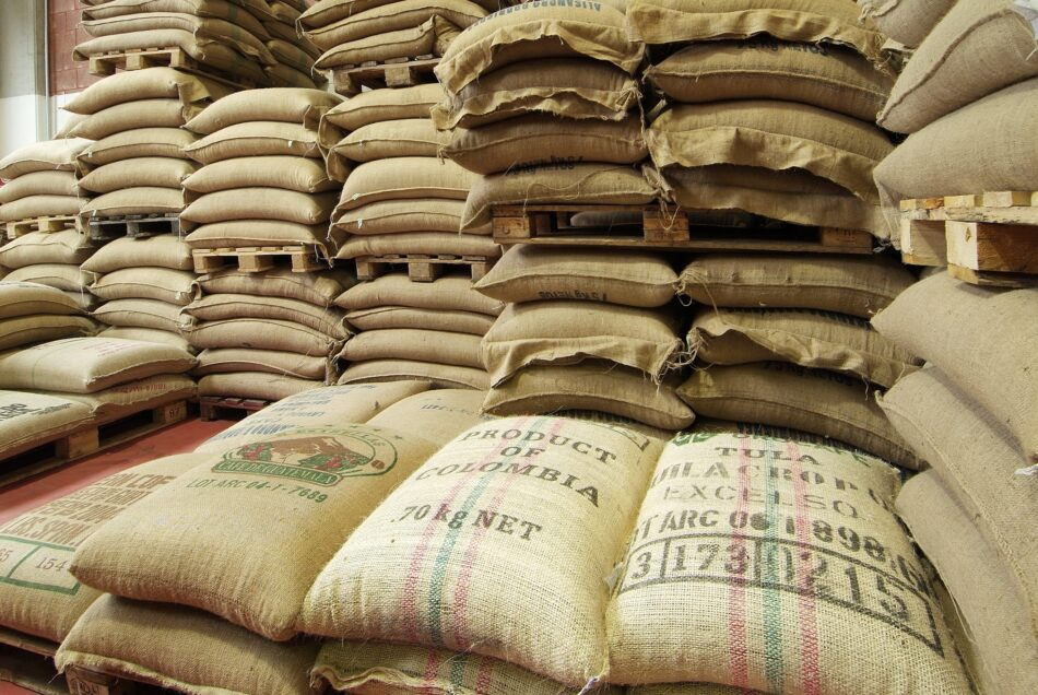 Ship coffee beans and cacao internationally