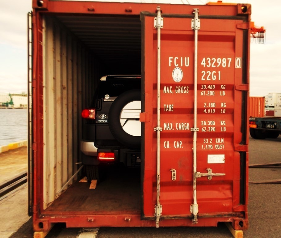 Shipping a car, furniture and household goods for international moving