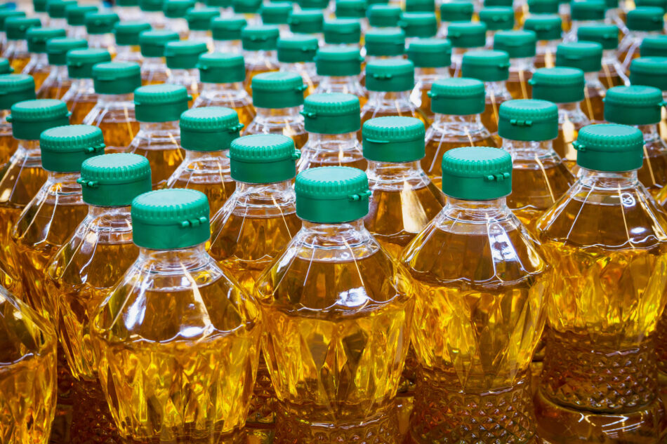 Food beverage industry shipping processed food oil transport