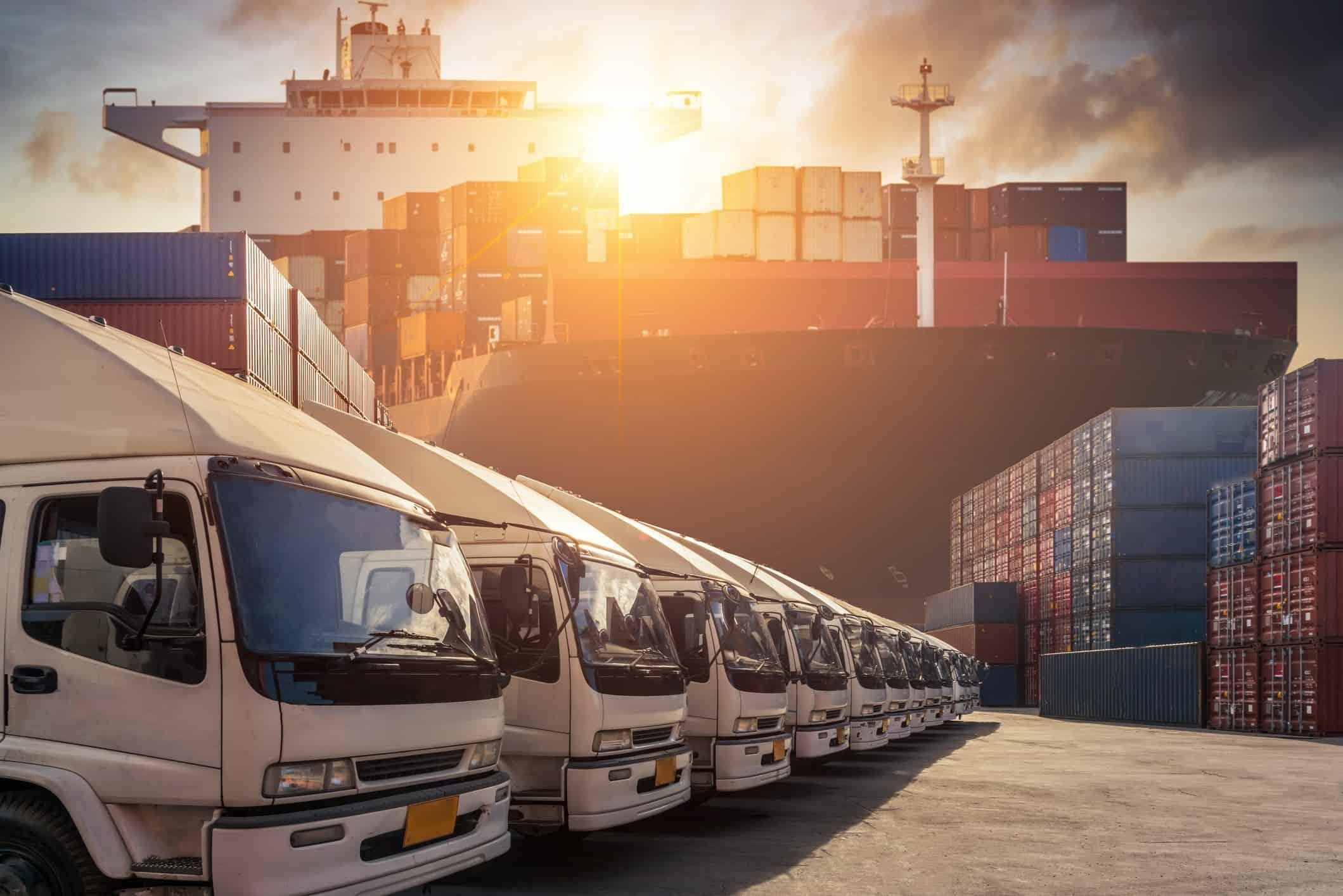Retail-consumer-goods-ground-shipping-ocean-transport